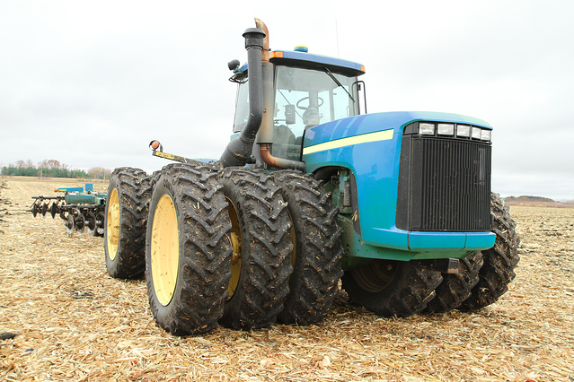 tractor tuned for deep ripping